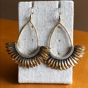 Stella & Dot Pegasus earrings